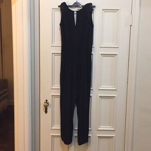 NWOT banana republic black tuxedo jumpsuit